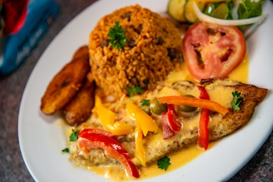 Fish sauteed in spiced coconut milk, served with rice and fried banana will be served at Asty Time for Detroit Restaurant week