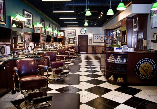 V's Barbershop is opening a location like this one in Arizona at Woodward Corners