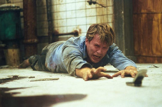 """Cary Elwes in """"Saw."""""""