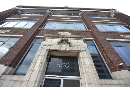 The Saturday Night building  is at 550 W. Fort Street in Detroit.