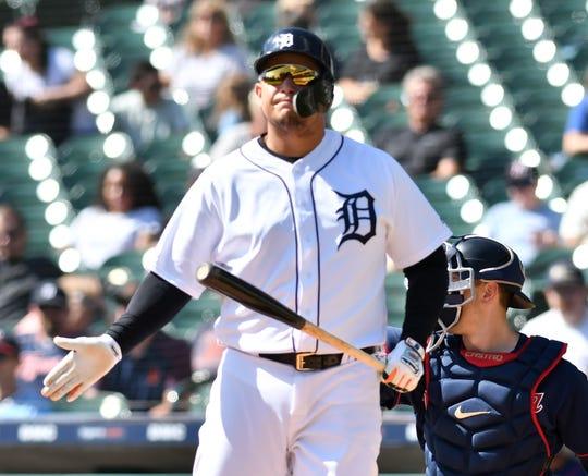 Tigers designated hitter Miguel Cabrera hit just 12 home runs this season.