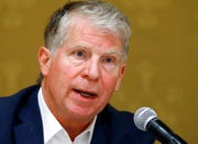 In this Thursday, Sept. 27, 2018, file photo, Manhattan District Attorney Cyrus Vance speaks during a discussion in Salt Lake City.