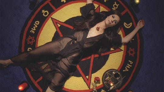 """Samantha Robinson in """"The Love Witch."""""""