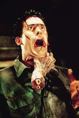 """Bruce Campbell in """"Evil Dead 2."""""""