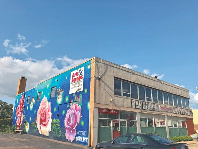 Arts & Scraps is located at 16135 Harper in Detroit.