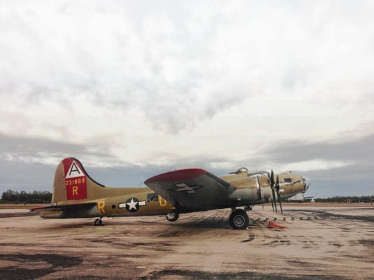 Several local WWII Veterans joined the Wings of Freedom tour crew flying in three very rare WWII bomber and fighter aircraft to Fort Myers in 2015.  The WWII Vintage Boeing B-17 Flying Fortress that was part of that flight  from Naples Municipal Airport,  called the 909 for its tail number, crashed Wednesday in Connecticut killing seven. It had often visited Southwest Florida during the Wings of Freedom Tour.