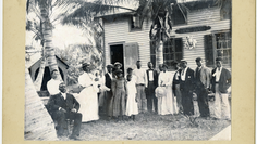 Bahamian pioneers in Florida: Workers at the Peacock Inn in Coral Gables in the late 1800s