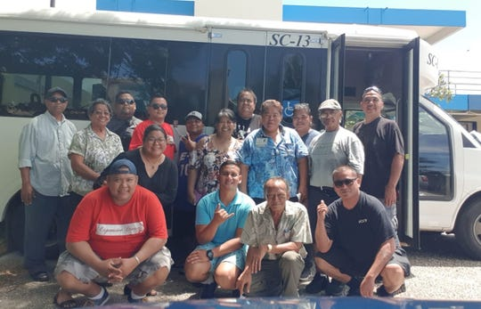 The following individuals completed their 16 hours Passenger Assistance Safety and Sensitivity Training, with hands on wheelchair securement on Sept. 28 at the Guam Community College. Pictured in front from left: Anthony Manibusan, EnyDennis Dali, Robert Auayan and Manuel Quifunas. Second row: Rica Garrido, Judy Aguigui certified PASS instructor, Incanasion Camacho, Peter Elatico and Peter Taijeron. Back row: Wesley Hermal, Marian Eber, Cecil Chugrad, Arnold Torres, Vincer Phillip, Albert Bustos and Juliet Quenga.