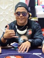 Joshua Chargualaf of Inarajan won the Monster Stack 2 title and almost $20,000 at the Asian Poker Tour Philippines II 2019 held at Resorts World Manila Sept. 11-22.