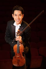 Richard Lin won the gold medal in 2018 at the 10th Quadrennial International Violin Competition of Indianapolis.