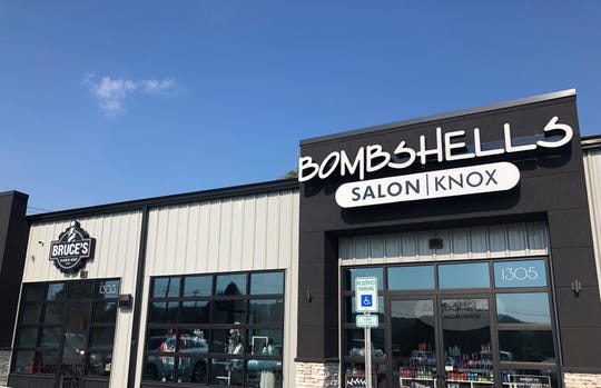 Bruce's Barber Shop is now open next door to Bombshells Salon at 1303 E. Emory Road, where Mayes Bus Lines sat for close to 70 years. Owner Kara Koontz hopes the empty shop next door will be leased by a local brewery or restaurant owner.