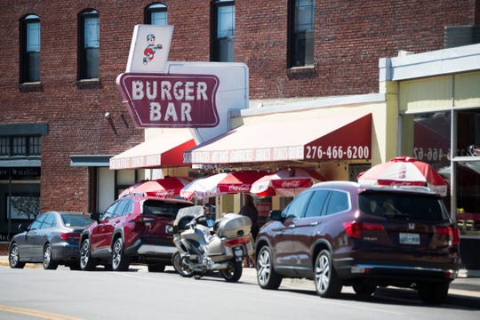 The Burger Bar in Bristol, Va., is seen Sept. 25, 2019. Driver Charlie Carr stopped here in the early morning hours of New Year's Day 1953 as he drove Hank Williams to a show in Canton, Ohio. Williams never made the show and might already have been dead before he reached Bristol.