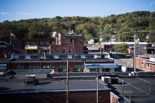 Bluefield, Va., is seen Sept. 25, 2019. Driver Charlie Carr made a stop at the Dough Boy diner here on New Year's Day 1953 as he drove Hank Williams to a show in Canton, Ohio. Williams never made the show and might already have been dead before he reached Bluefield.