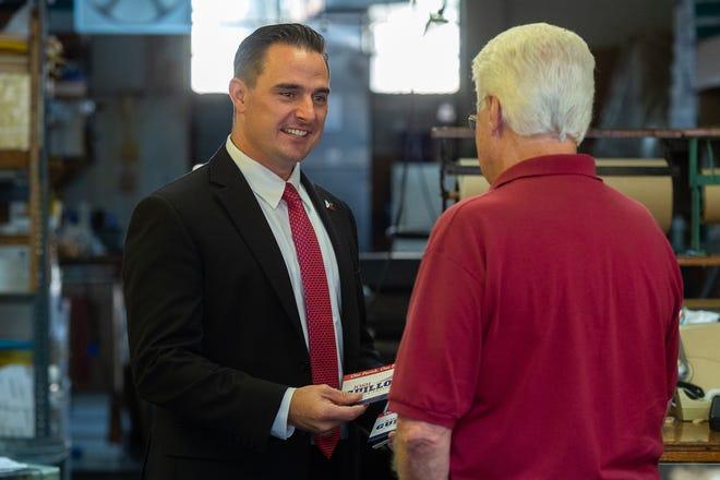 Mayor President Candidate Josh Guillory. Thursday, Oct. 3, 2019.