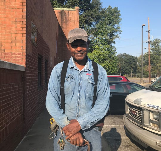 Patrick Hunter, 59, voted in North Memphis. He said he chose Jim Strickland four years ago and that Strickland deserved another four years as mayor of Memphis.