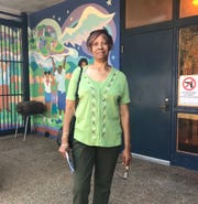 "Pearlie Atkins, 75, cast her ballot on Election Day. She said she is hoping that the city government will lean ""more toward the community"" following the election."