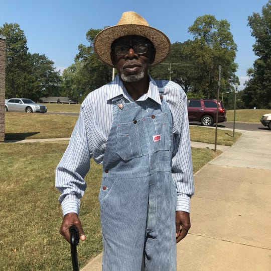 James Lee Jackson, 83, voted at the North Frayser Community Center. He said former Memphis Mayor Willie Herenton got his vote.