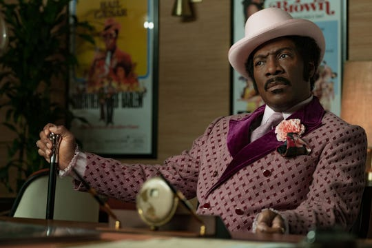 "Eddie Murphy has one of the most vivid roles of his career in ""Dolemite Is My Name."""