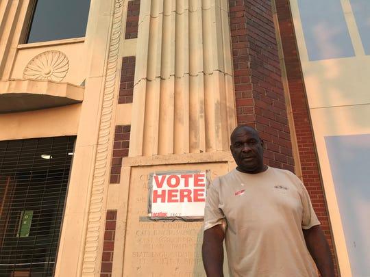 John Barrett, 69, of South Memphis, voted for Jim Strickland.