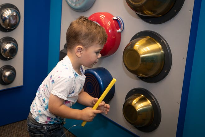 Betty Brinn Children's Museum has many hands-on exhibits.