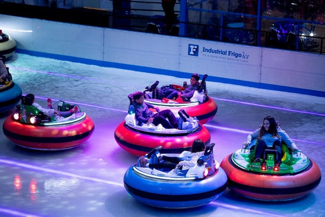 Bumper Cars On Ice is coming to Milwaukee in April 2020