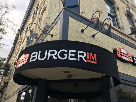 Burgerim, the chain selling mini-burgers in twos and threes, has closed at 1001 N. Old World  Third St.
