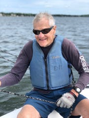 Bob Henschel, 90, competed in his final sailboat race this past Labor Day weekend.