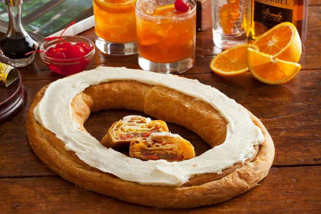 O&H Danish Bakery makes the Brandy Old Fashioned Kringle for special occasions. It will be sold on Oct. 19 when the bakery celebrates its 70th anniversary.