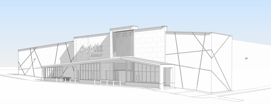 A rendering of East Nashville's first Publix supermarket was submitted for Metro approval with the permit application