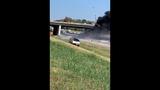 A fiery crash involving a commercial vehicle has shut down I-65 south near Franklin Thursday, Oct. 3, 2019