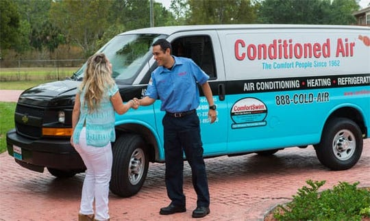 Naples-based Conditioned Air is expanding on Florida's west coast.
