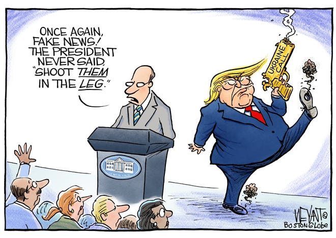 Trump shoots himself in the foot.