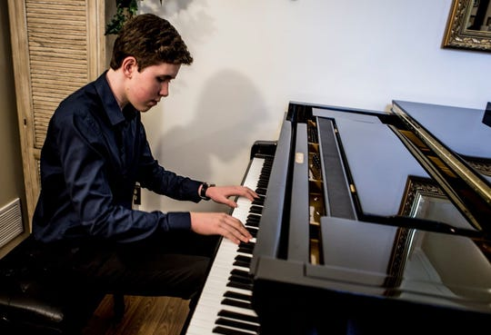 Classical pianist Gavin George, of Granville, will perform at the orchestra's first concert of the season, set for Oct. 19.