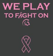 The Holy Angels soccer team will honor a former teacher with special-made shirts at its Breast Cancer Awareness Game.