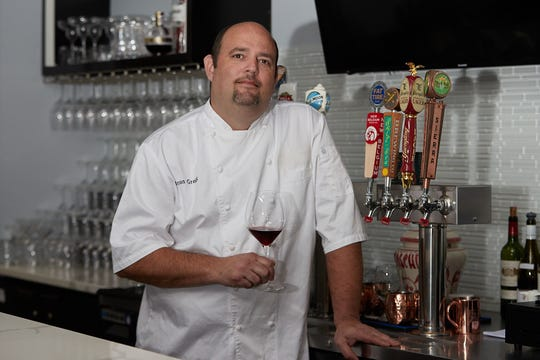 Chef Bryan Gregg heads the kitchen at Cafe Chameleon