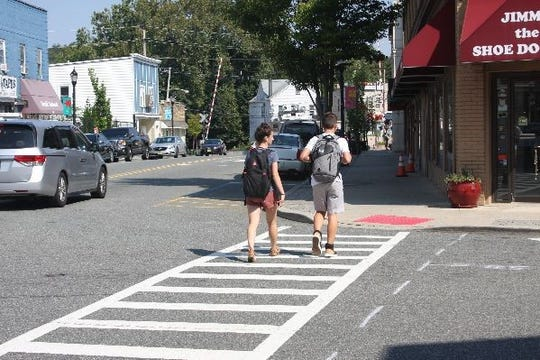 A campaign to boost pedestrian safety in Pompton Lakes' business district and beyond is running for the duration of October 2019.