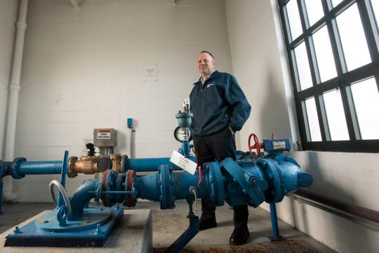 Richard Calbi, director of operations at Ridgewood Water, stands by the system's deepest well in Midland Park.