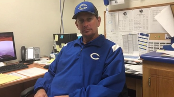 Carlsbad head coach Gary Bradley discusses the upcoming game against Gadsden.