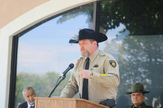 Eddy County Sheriff Mark Cage and nearly 200 other sheriffs from the United States were briefed on Trump administration immigration efforts last month in Washington, D.C.
