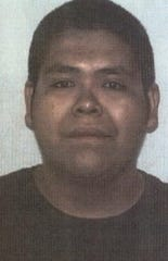 Mugshot of Aaron Ortega, photo courtesy of Twelfth Judicial District Attorney's office.