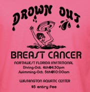 "The Northwest Florida Invitational coincides with the ""Drown Out Breast Cancer"" fundraiser to raise awareness of breast cancer. The meet is scheduled for Oct. 4 and 5 at Washington High School."