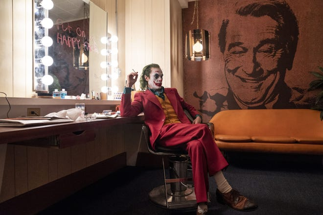 "Joaquin Phoenix appears as Arthur Fleck, during a scene from the highly-anticipated ""Joker"" film."