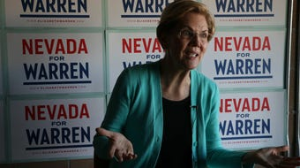 The RGJ interviewed Senator Elizabeth Warren moments before her campaign rally in Carson City on Oct. 2, 2019.