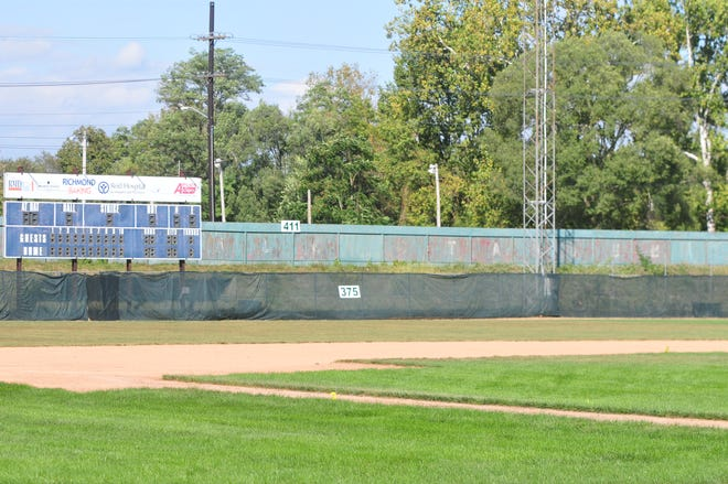 Seton Catholic junior Luke Leverton is raising funds for repairs to McBride Stadium in Richmond.