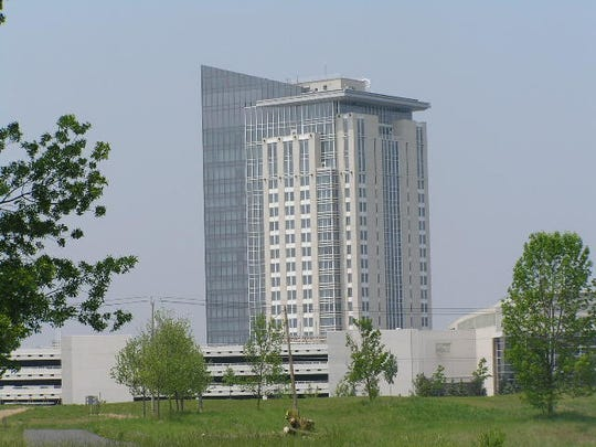 Turning Stone Resort Casino hotel tower