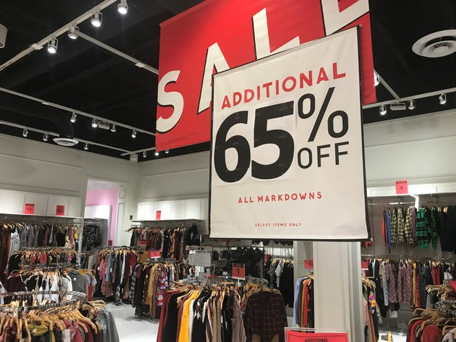 Forever 21 filed for bankruptcy protection, and the retailer's store in Silverdale is on the list of potential closures.