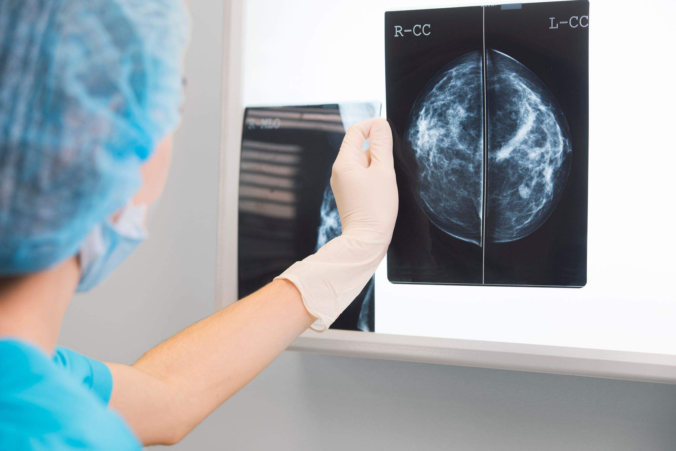 Women who feel a lump or have a family history of breast cancer should talk to their doctor about screening.