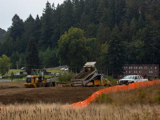 What's been going on along Kuebler Blvd. near Aumsville Hwy.?