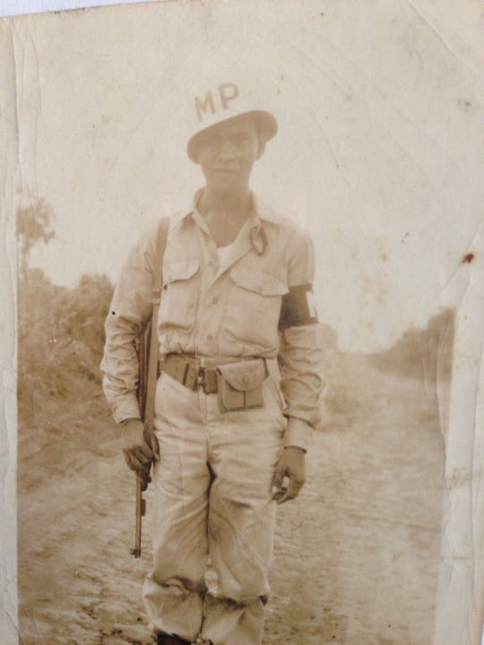 Salinas resident Jose D. Serrano served in the U.S. Army during WWII during which he was taken prisoner and forced to participate in the Bataan Death March.