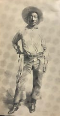 Bill Pickett was born near Austin in 1870 andwas inducted into the Rodeo Hall of Fame of theNational Cowboy and Western Heritage Museum in 1971, andthe ProRodeo Hall of Fame in 1989. He is credited with the invention of bulldogging steers, and hailed as  one of the best cowboys who ever lived.
